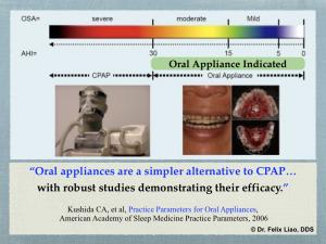 Oral Application Indicator