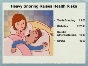 heavy snoring health risks